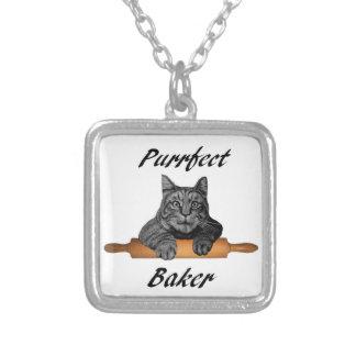 Señora loca del gato de los regalos del gato del colgante personalizado