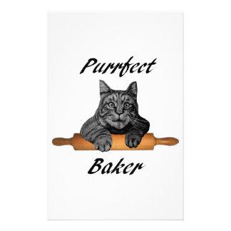 Señora loca del gato de los regalos del gato del  papeleria de diseño