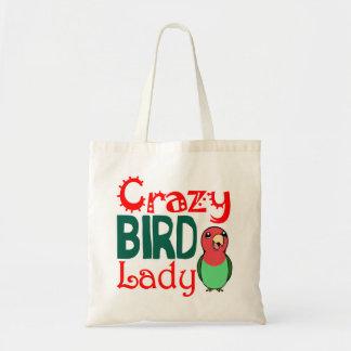 Señora loca del pájaro