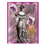 Señora Love del Victorian Tarjetas Postales