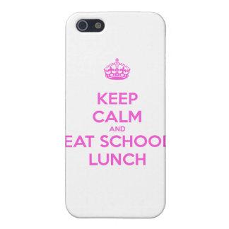 Señora Loves Nutrition del almuerzo escolar iPhone 5 Funda