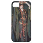 Señora Macbeth iPhone 5 Carcasa