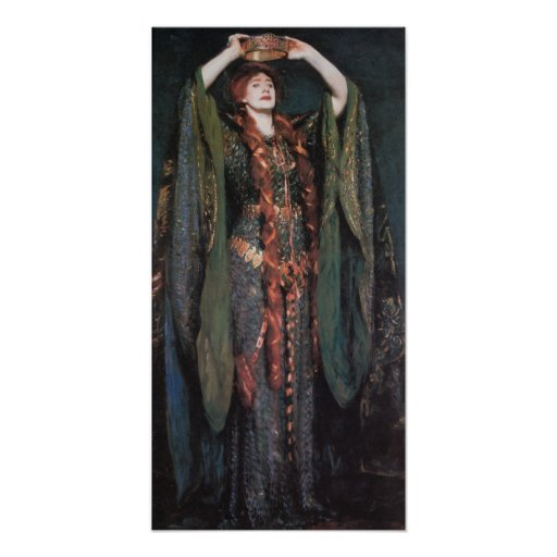 Señora Macbeth Póster