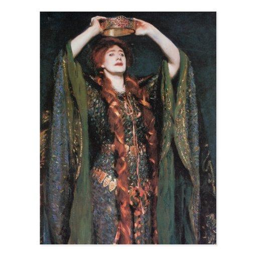 Señora Macbeth Tarjetas Postales