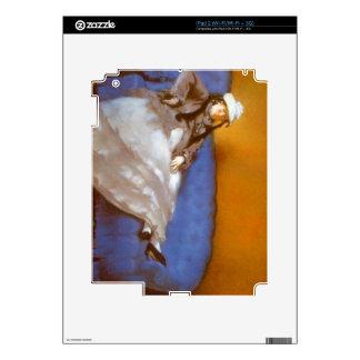 Señora Manet de Eduardo Manet iPad 2 Skins