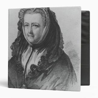 """Señora Maria Delany Carpeta 1 1/2"""""""