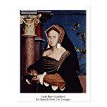 Señora Maria Guildford By Hans Holbein el más jove Tarjetas Postales