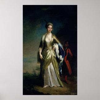 Señora Maria Wortley Montagu, c.1725 Impresiones