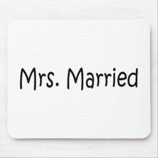 Señora Married Tapetes De Ratones