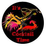 Señora Martini Rooster Cocktails Bar del baile del Reloj
