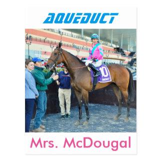 Señora McDougal y Jose Ortiz Tarjeta Postal