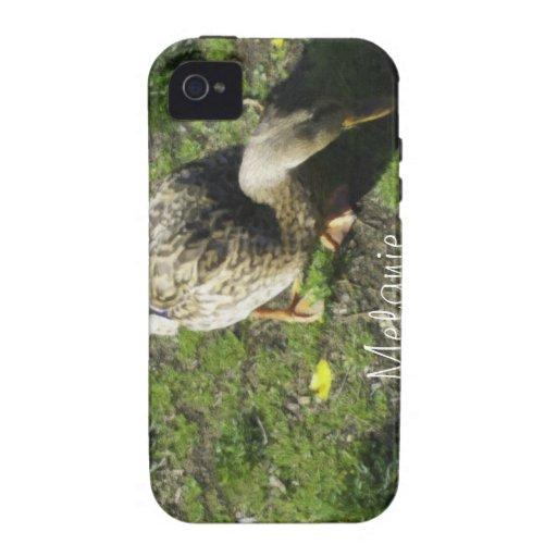 Señora Melanie Tweed Case-Mate iPhone 4 Carcasa