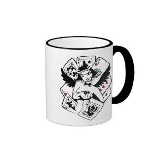 Señora mística Luck Mug de las reflexiones Tazas