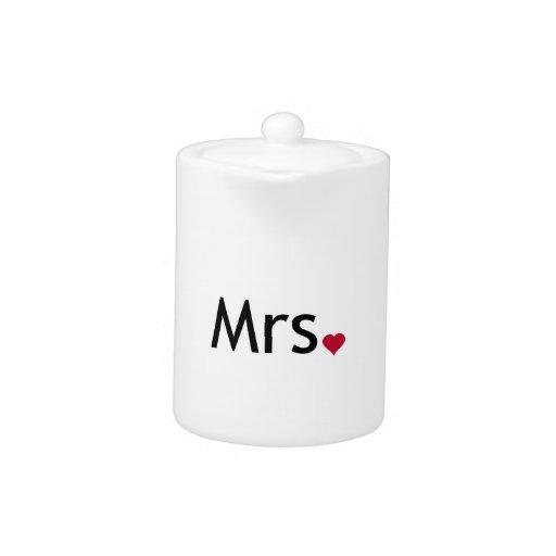 Señora - mitad de Sr. y señora sistema