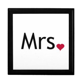Señora - mitad de Sr. y señora sistema Cajas De Regalo