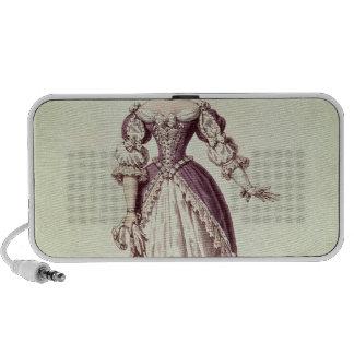 Señora Moliere, Armande nee Bejart Notebook Altavoz