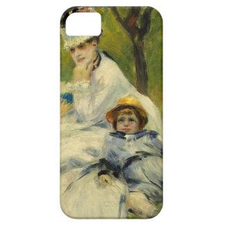 Señora Monet y su hijo de Auguste Renoir Funda Para iPhone SE/5/5s