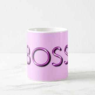 Señora Mug de Boss Taza Básica Blanca