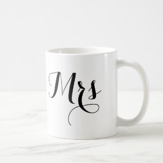Señora Mug Taza Básica Blanca