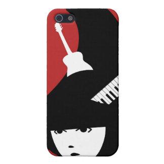 Señora Music IPhone Case iPhone 5 Cárcasa