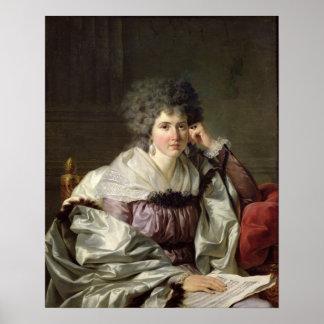 Señora Nicaise Perrin, Catherine nee Deleuze Póster