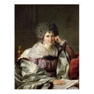Señora Nicaise Perrin, Catherine nee Deleuze Tarjeta Postal