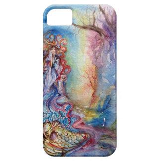 SEÑORA OF LAKE/magia y misterio iPhone 5 Case-Mate Cárcasas