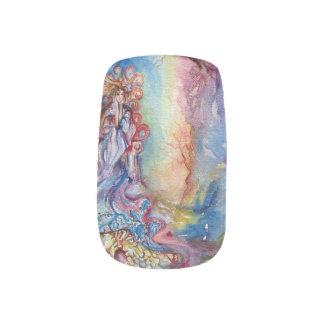 SEÑORA OF LAKE, magia y misterio Stickers Para Manicura