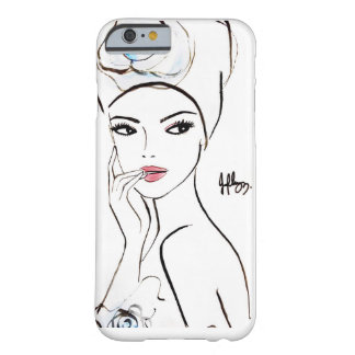 Señora Orchid Funda De iPhone 6 Barely There