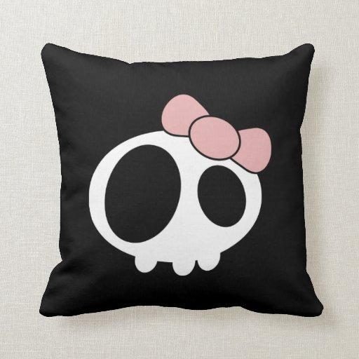 Señora oscura Pillow Almohadas