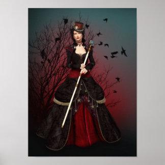 Señora oscura Poster