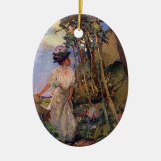Señora Out Taking el ejemplo de la antigüedad del Ornamento Para Arbol De Navidad