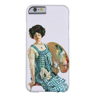 Señora Painter Palette del artista del Victorian Funda Barely There iPhone 6