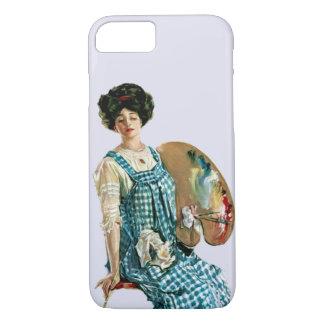 Señora Painter Palette del artista del Victorian Funda iPhone 7