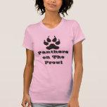Señora Panther On The Prowl Camiseta