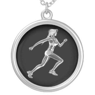 Señora para mujer Runner Necklace Grimpola Personalizada