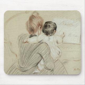 Señora Paul Helleu y su hija Paulette Alfombrillas De Raton
