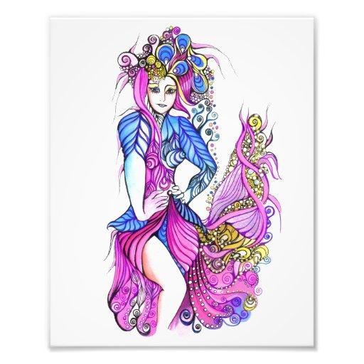 Señora Peacock Cojinete