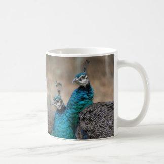 Señora Peacocks Mug Taza