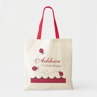 Señora personalizada Bug Bag Bolsa Tela Barata
