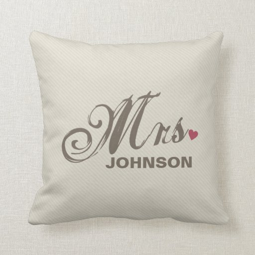 Señora Personalized american MoJo Pillow Almohada