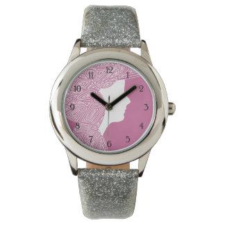 Señora Pink - numerado Reloj De Mano