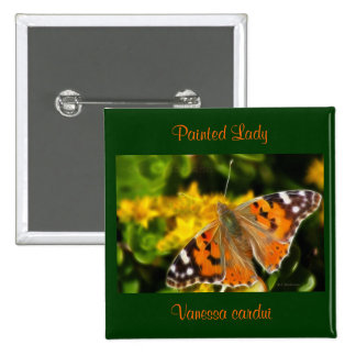 Señora pintada Butterfly (cardui de Vanesa) Pins