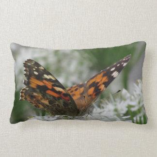 Señora pintada Butterfly Almohada