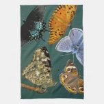 Señora pintada Butterfly Kitchen Toallas De Cocina