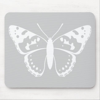 Señora pintada Butterfly Mouse Pads