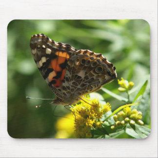 Señora pintada Butterfly Mousepad