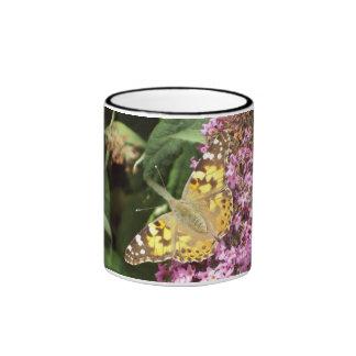 Señora pintada Butterfly Mug