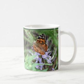 Señora pintada Mug Tazas De Café