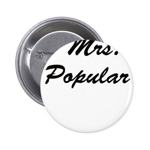 Señora Popular Pins